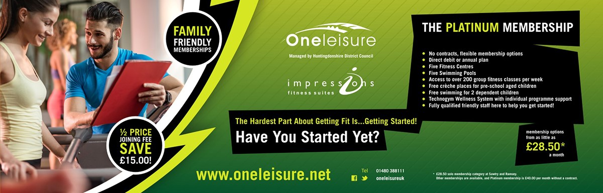 Half Price Joining Fee at One Leisure