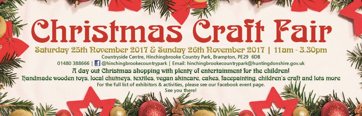 Christmas Craft Fair at the Country Park