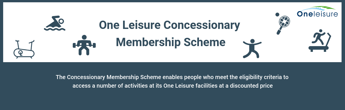 One Leisure Concessionary Scheme